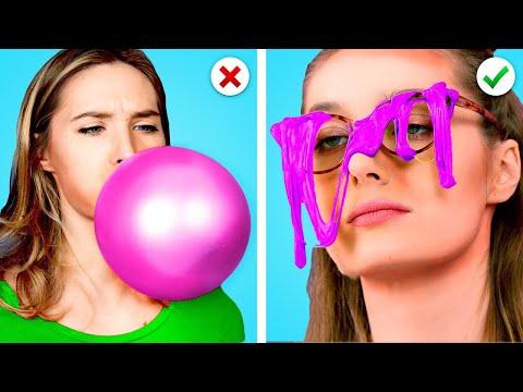 NEW GIRL VS POPULAR GIRL AT SCHOOL || Popular vs Nerd Student! How to Be Popular by Crafty Panda