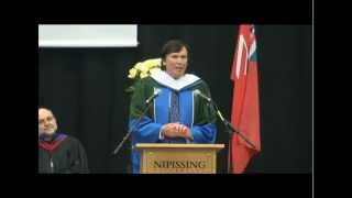 Colin Simpson Honorary Doctorate Degree Speech