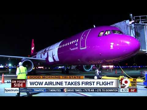 WOW Air begins service at Cincinnati/Northern Kentucky International Airport