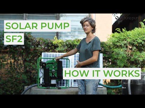 How A Solar Water Pump Works - Futurepump SF2