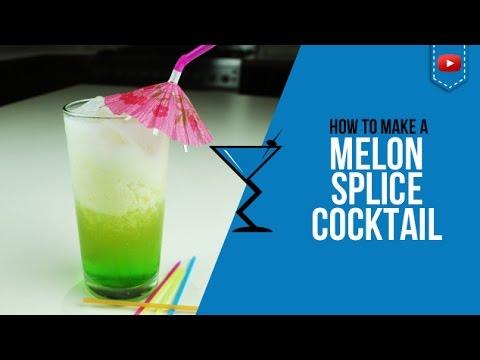 Midori Splice Cocktail - How to make a Midori Splice Cocktail Recipe by Drink Lab (Popular)