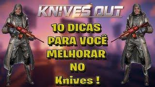 10 Dicas para te ajudar a melhorar no Knives Out, PARTE 1 !! FT  Spyzitoo