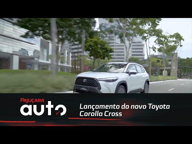 Lançamento do novo Toyota Corolla Cross