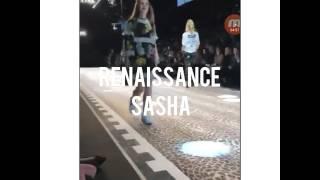 Саша Спилберг на показе от Dolce & Gabbana