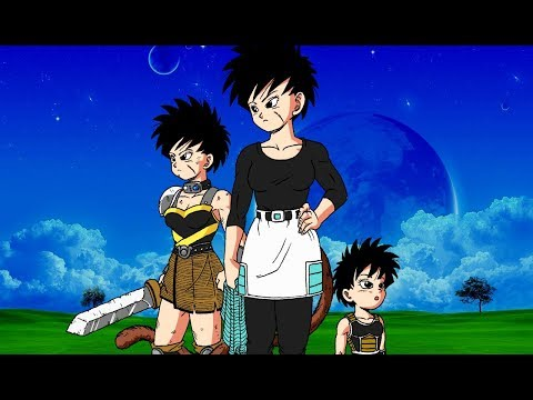 FINALLY the NEW Saiyan Female is Here! Separi is Born in Dragon Ball New Age