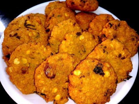 Masala Vada Recipe - Easy Snack Recipe (English Subtitles)
