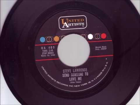 1962 Send Someone To Love Me   Steve Lawrence