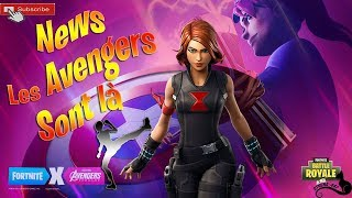 [LIVE/EN] FORTNITE - News The AVENGERS Are There! New Skin! We're delirious!. _. Relaxing game!