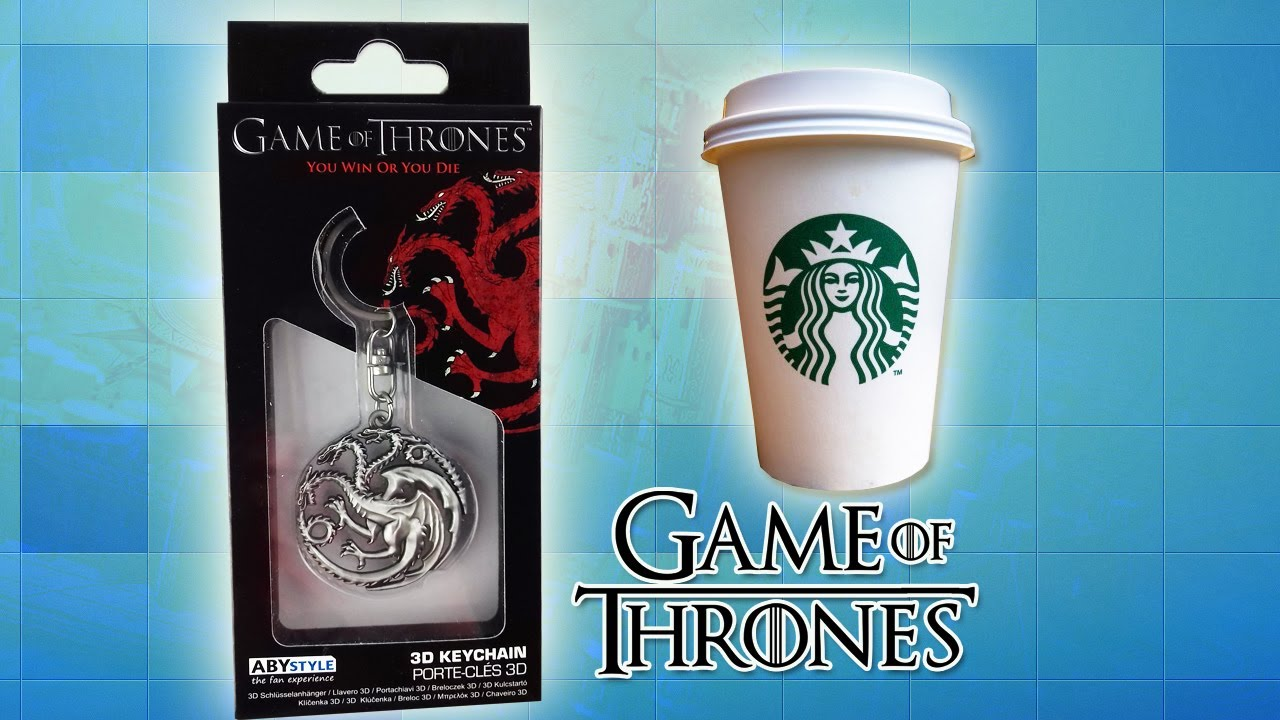 Porte-cl/és Opening logo GAME OF THRONES ABYstyle