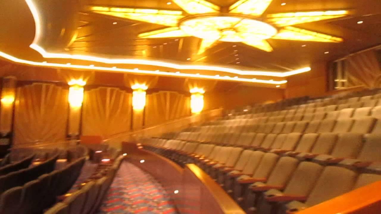 Disney Dream Cruise Ship Movie Theater YouTube - Cruise ship movie