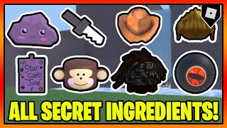UPDATED How to get ALL SECRET INGREDIENTS in WACKY WIZARDS   Roblox