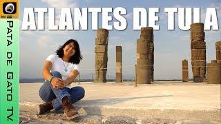 Visitando los Atlantes en Tula, Hidalgo / Visiting the Atlants in Hidalgo Mexico.