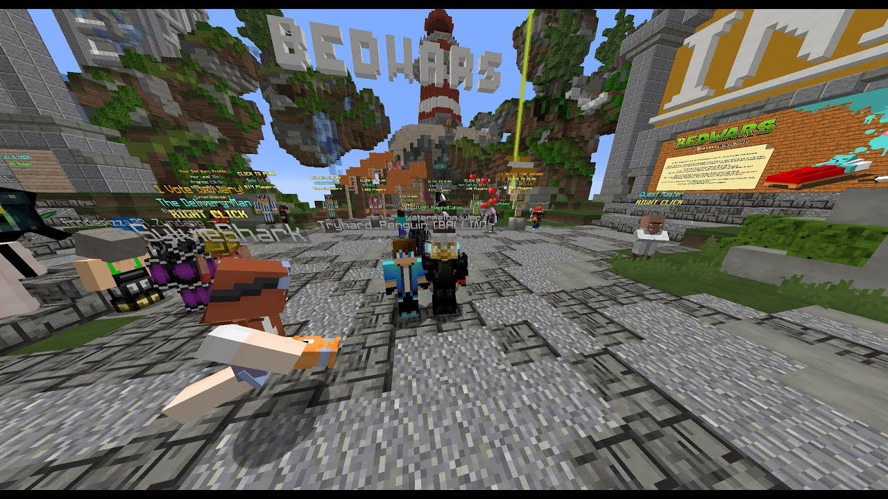 I just got MVP ++ in hypixel! Celebrate with me :) /p join WafflezRSoggy