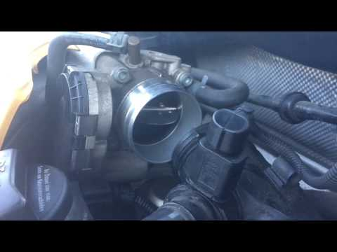 Vw Jetta mk4 2.0 Air filter and throttle body cleaning Epc code fix