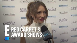Rebecca Gayheart Talks Summer Plans With Eric Dane | E! Live from the Red Carpet