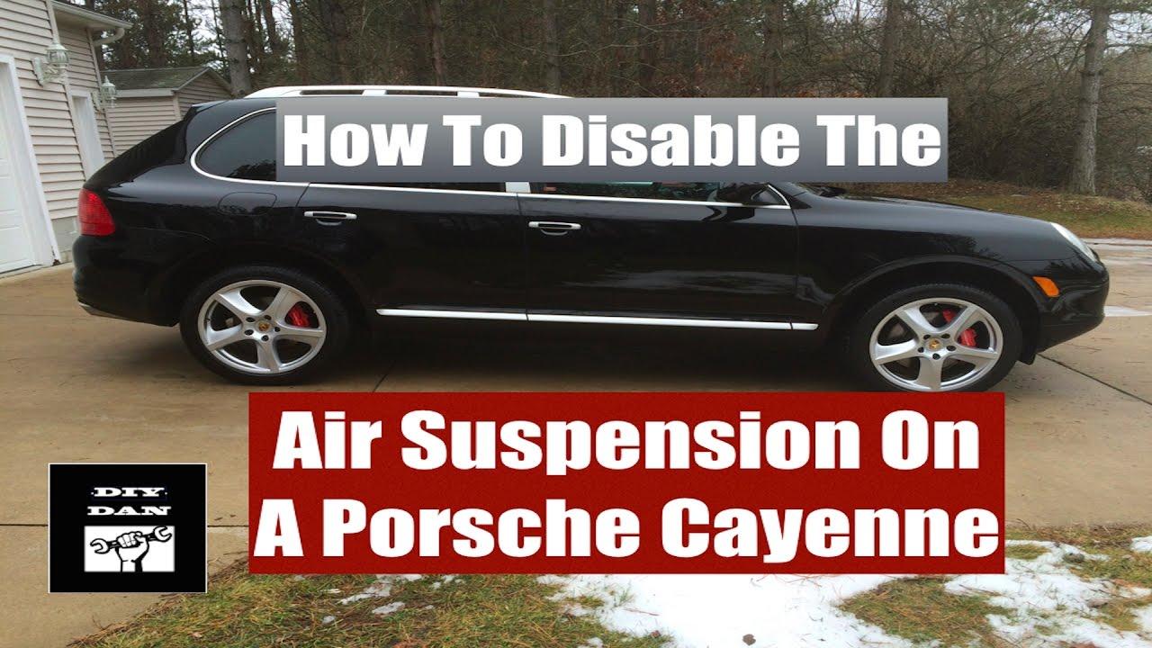 Porsche cayenne air suspension problems