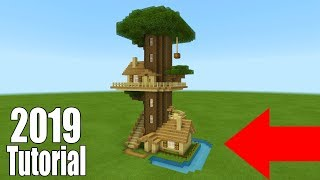 Minecraft Tutorial: How To Make A Ultimate Survival Tree house 2019