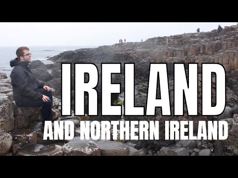 BEAUTIFUL places to visit in Ireland/Northern Ireland: travel guide video