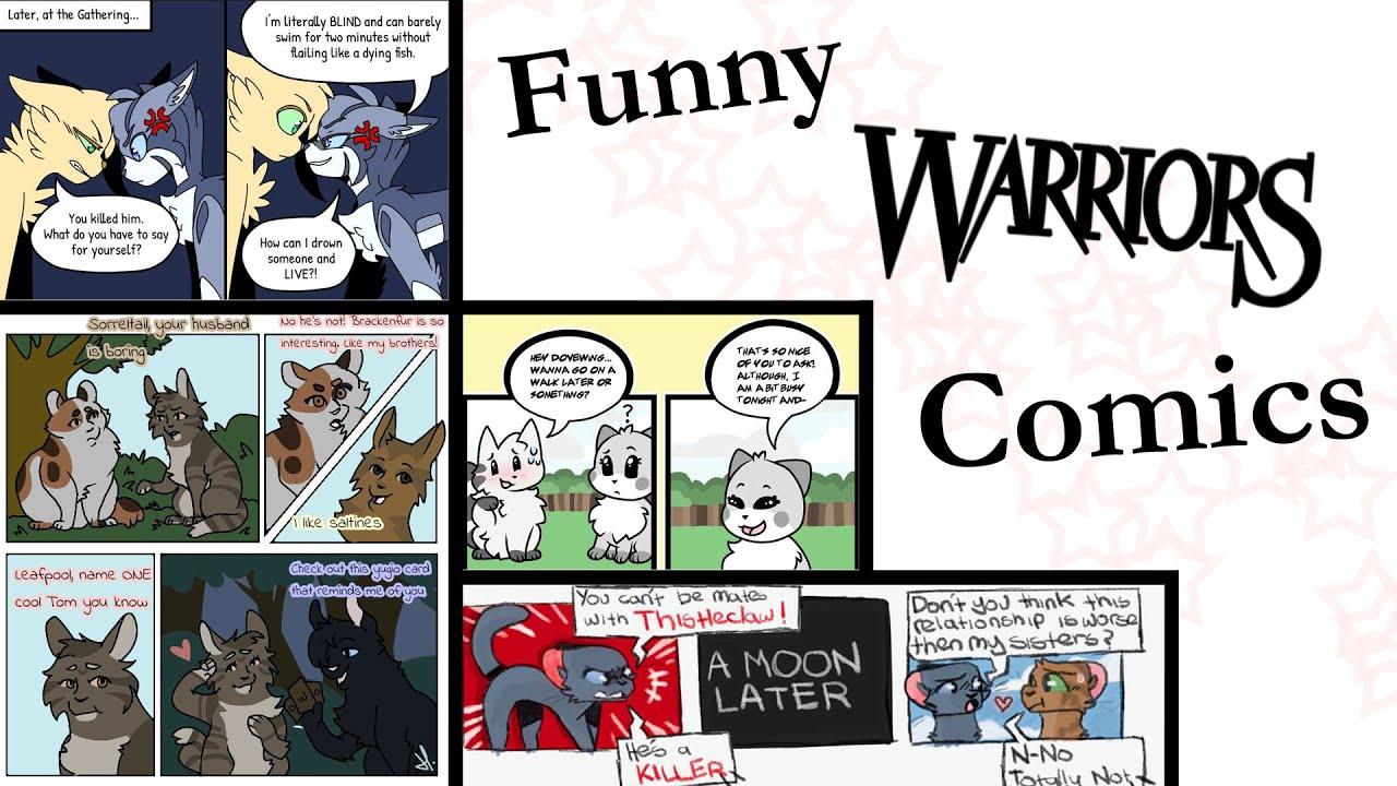 Funny Warrior Cats Comics