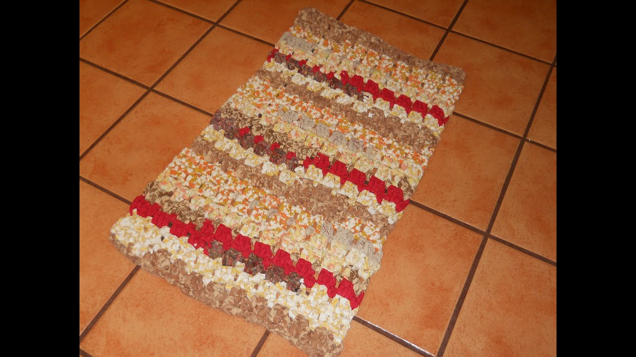 Crocheted Rag Rug Py Country Road Part 2 Erin Halvorsen