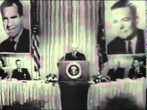 Eisenhower Speech on Nixon Commercial- Richard Nixon 1960 Presidential Campaign Election Ad