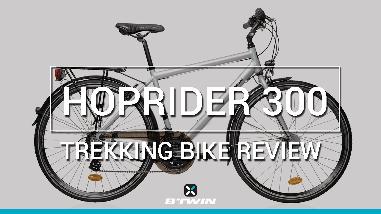 City bike hoprider 300 b 39 twin v lo ville hoprider 300 b for Porte velo btwin 300