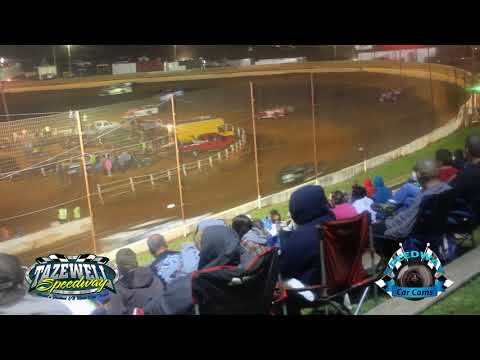 Sportsman Late Model - Feature Race - 9-3-17 Tazewell Speedway