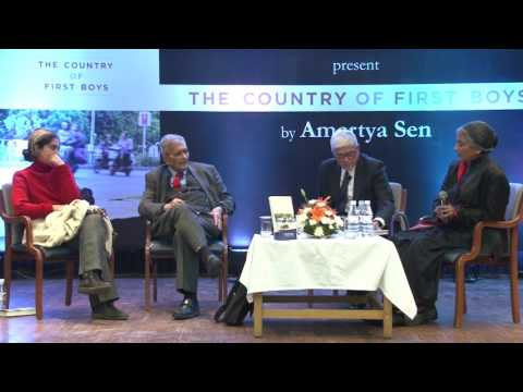 Amartya Sen on education and healthcare in India