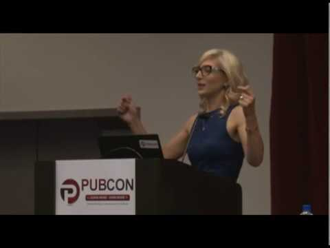 Snapchat Presentation at Pubcon | Christina Baldassarre