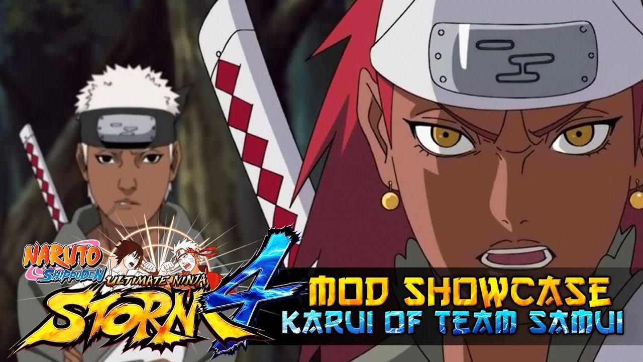 Karui of Team Samui!!! Naruto Shippuden Utlimate Ninja ...
