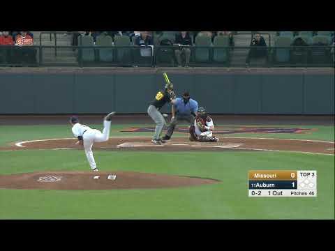 Auburn Baseball vs Missouri Game 2 Highlights
