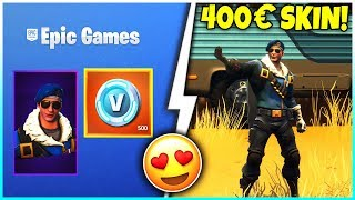 😱 I have the 400€ ROYAL BOMBER Skin! 🌵 How to MAKE the SKIN - Fortnite Battle Royale