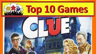 Top 10 Board Games Like Clue