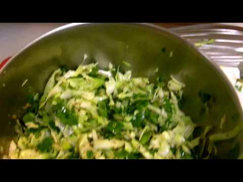 Cabbage Slaw With Mexican Lime Vinaigrette! Great For Tacos!