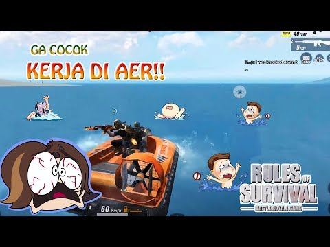 JANGAN MAIN2 DEKET AIR !!! - Rules of Survival Indonesia