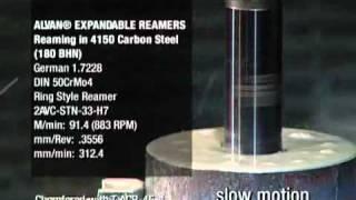 SCAMI - Escariado de acero al carbono 4150