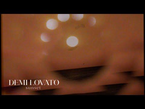 Demi Lovato - Sunset (Visualizer)