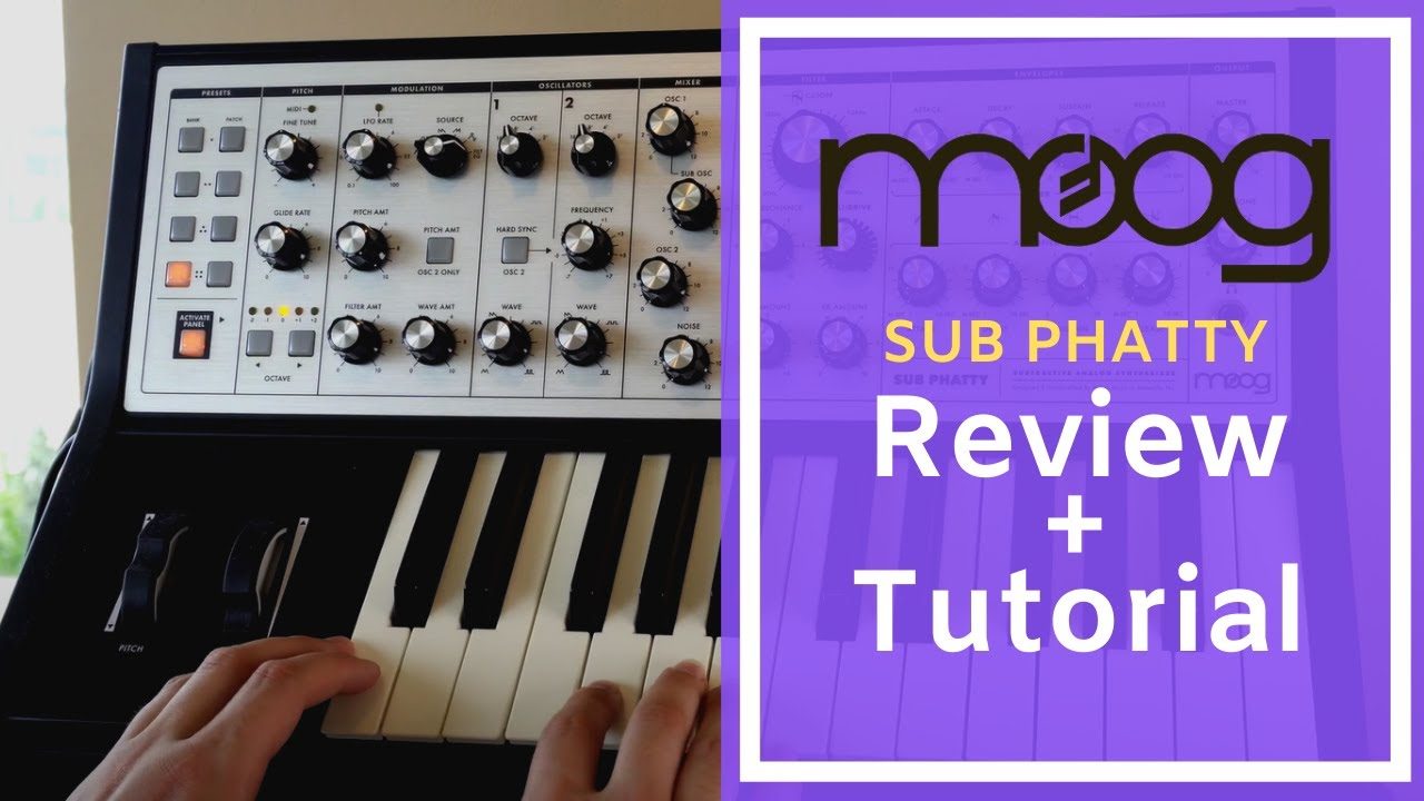 Moog Sub Phatty Review: should you buy the Sub Phatty in 2020?