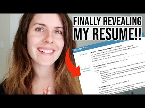 How To Write A SCIENCE Resume // Career Series