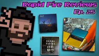 Rapid Fire Reviews, Ep. 25 (Flume, Delta Heavy, Karma Fields, Gesaffelstein, Crywolf + More)