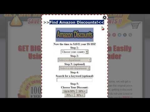 Amazon Discount Finder | Amazon Coupon Code | Amazon Discount Code