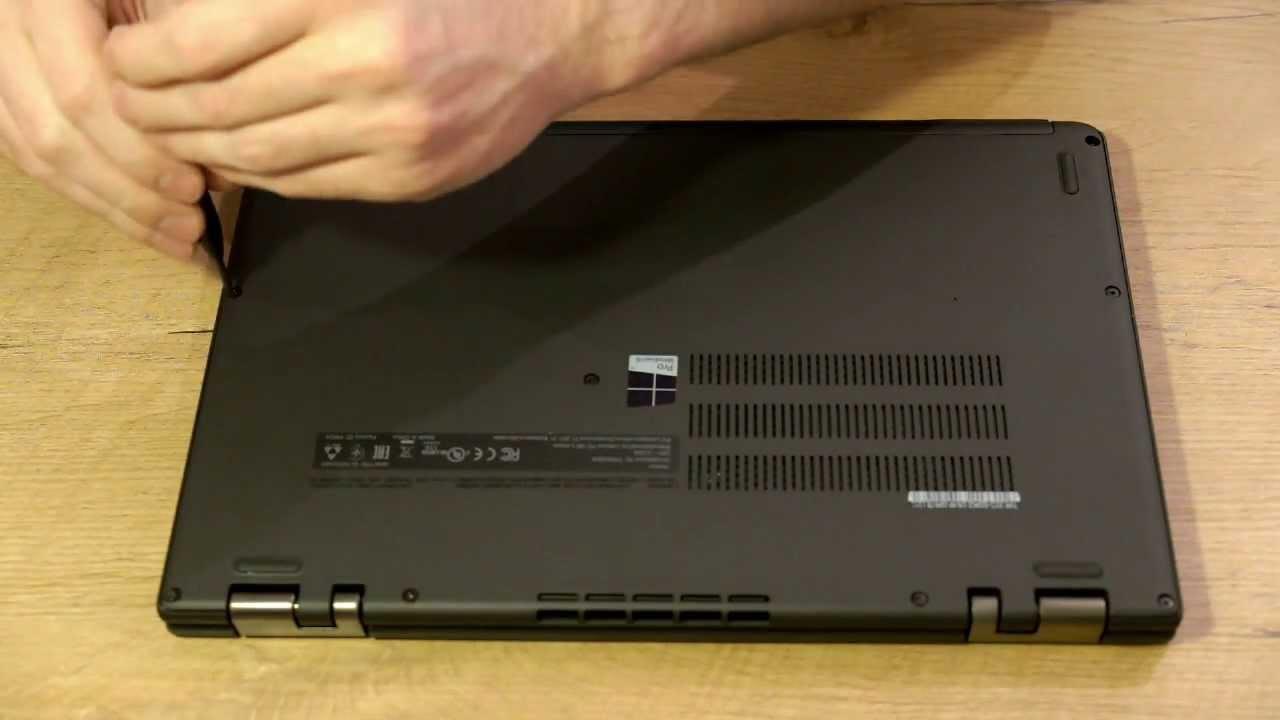 Lenovo Thinkpad Yoga HDD / SSD Festplatte tauschen - YouTube