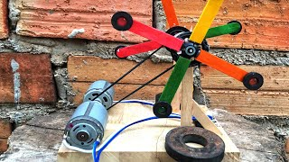 Electricity Free Energy Generator Self Running DC Motor Handmade Science Invention