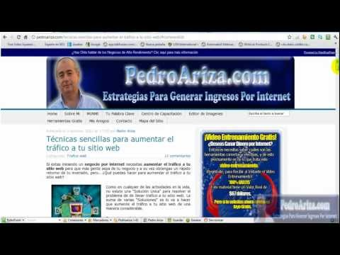 Como presentar un sitio web al directorio de Dmoz por Pedro Ariza