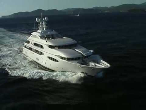 luxuriose innenausstattung yacht vive la vie, lürssen yachts - vive la vie - youtube, Design ideen