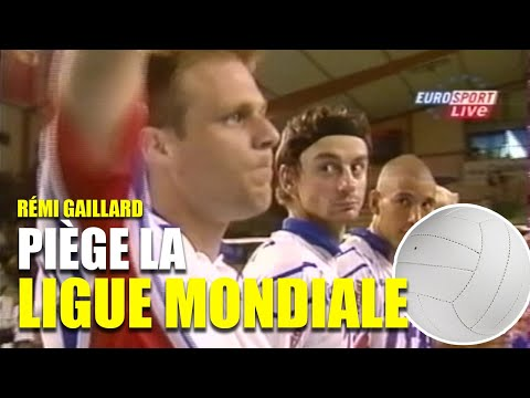 REMI GAILLARD PRANKS VOLLEYBALL WORLD CHAMPIONSHIP