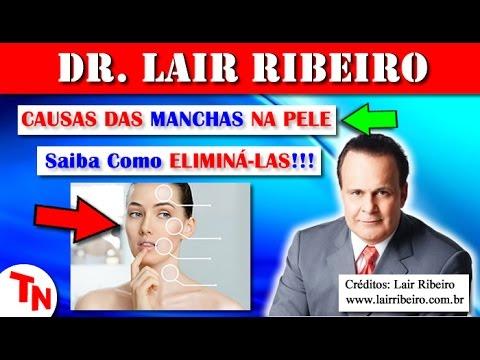 CAUSAS DAS MANCHAS DE PELE, Saiba Como ELIMINÁ-LAS!!! Vitamina D3 e o Sabonete (Lair Ribeiro)