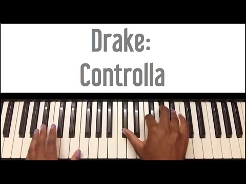 Drake - Controlla: Piano Tutorial