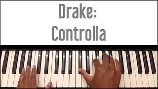 Video Drake - Controlla: Piano Tutorial download MP3, 3GP, MP4, WEBM, AVI, FLV Juni 2018
