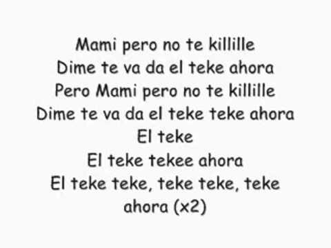 Crazy Design ft Carlitos Way    El Teke Teke (con letras) xD
